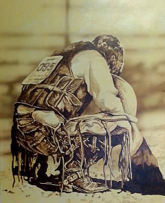 Painting - Eight Second Prayer by Tim  Joyner