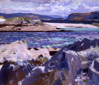 Scotland Painting - Eilean Annraidh From The North End by Francis Campbell Boileau Cadell