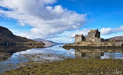 Scotland Photograph - Eilean Donan And Loch Alsh by David Peat