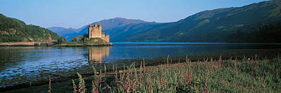 Hazy Sky Photograph - Eilean Donan Castle & Loch Duich by Panoramic Images