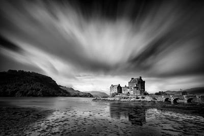 Castle Photograph - Eilean Donan Castle 1 by Dave Bowman