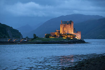 National Past Time Photograph - Eilean Donan Castle  Dornie, Highlands by Carl Bruemmer