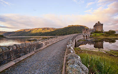 Decor Photograph - Eilean Donan Castle Entry by Marcia Colelli