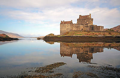 Photograph - Eilean Donan Castle by Grant Glendinning