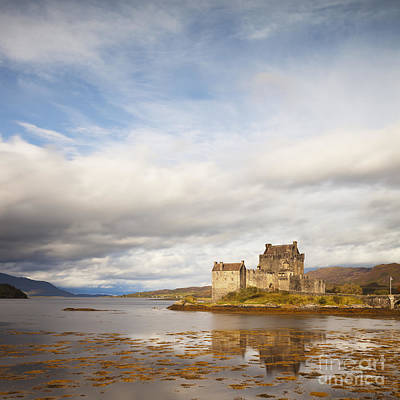 Reconstruction Photograph - Eilean Donan Castle Highland Scotland by Colin and Linda McKie