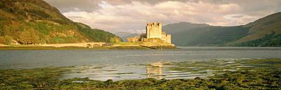Color Guard Photograph - Eilean Donan Castle Highlands Scotland by Panoramic Images