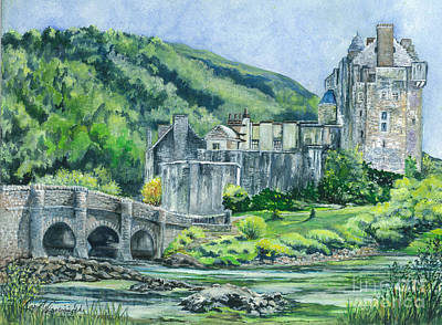 Eilean Donan Castle In Scotland  Original by Carol Wisniewski