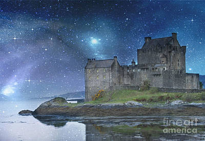 Digital Photograph - Eilean Donan Castle by Juli Scalzi