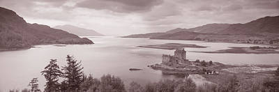 Historic Bridge Photograph - Eilean Donan Castle On Loch Alsh & by Panoramic Images