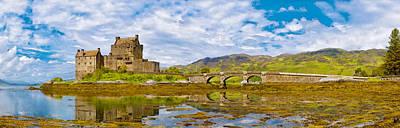 Eilean Donan Castle Panorama Art Print