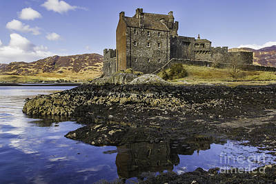 Too Cute For Words - Eilean Donan Castle Reflection by Alex Millar