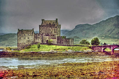 Photograph - Eilean Donan Castle by Rod Jones