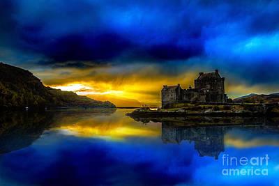 Photograph - Eilean Donan Castle Scotland II by Lilianna Sokolowska
