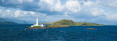 Photograph - Eilean Musdale Lighthouse by Max Blinkhorn