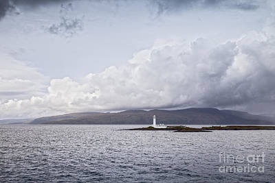 Eilean Musdile Lighthouse Scotland Art Print by Colin and Linda McKie