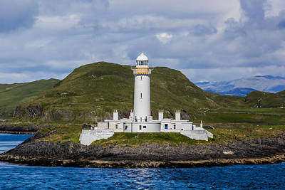 Photograph - Eilean Musdile Lighthouse by Tom and Pat Cory