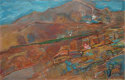 Ein Gedi Mountains Israel Original