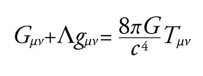 Einstein Field Equation Art Print