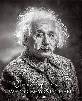Photograph - Einstein by Orren Jack Turner