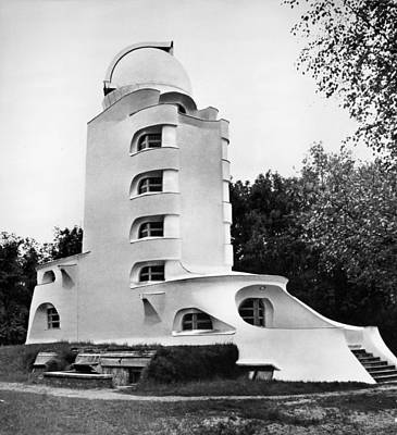 Photograph - Einstein Tower, Potsdam by Granger