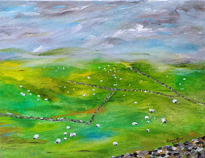 Painting - Eire by Judith Rhue