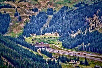 Photograph - Eisenhower Tunnel by Audreen Gieger