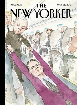 Firing Painting - Ejected by Barry Blitt