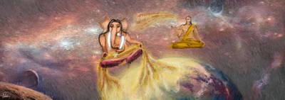 Mahabharata Painting - Ekadanta by Randhir Rawatlal
