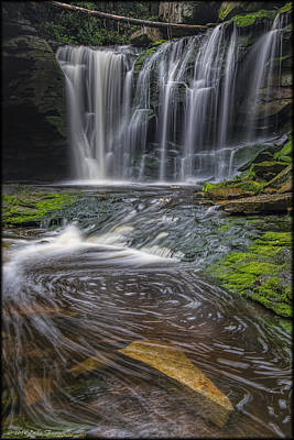Photograph - Ekalaka Falls by Erika Fawcett