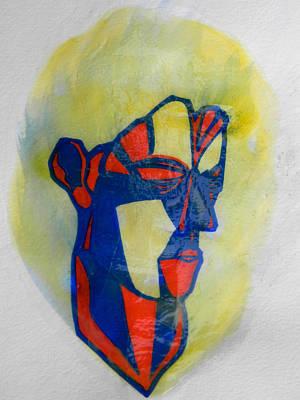El-3aneed - The Stubborn One Art Print