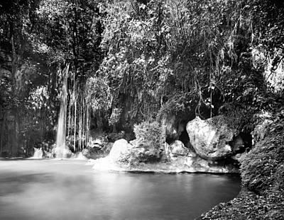Photograph - El Abra, Mexico Cave by Granger