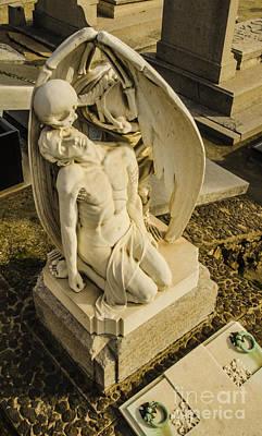 Photograph - El Beso De La Muerte 2 by Deborah Smolinske