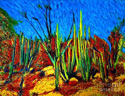 El Bosque Del Cactus II Original
