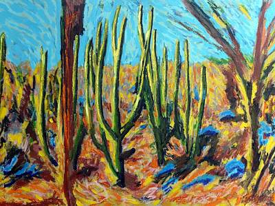 El Bosque Del Desierto Art Print by Gerhardt Isringhaus