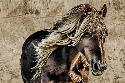 Stallone Mixed Media - El Caballo by Dancin Artworks