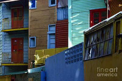 Photograph - El Caminito La Boca Buenos Aires 2 by Bob Christopher
