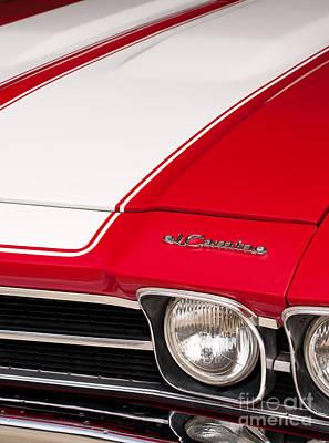 V8 Chevelle Photograph - El Camino 03 by Rick Piper Photography
