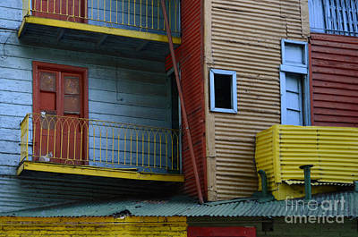 Photograph - El Caminito La Boca Buenos Aires 1 by Bob Christopher