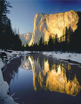 2m6542-el Cap Reflect Art Print
