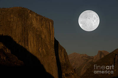 Photograph - El Capitan And Half Dome by Mark Newman