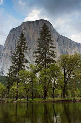 Photograph - El Capitan From Accross The River by Robert Woodward