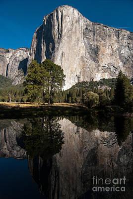 El Capitan In Yosemite 2 Art Print by Terry Garvin
