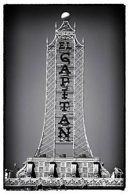 Photograph - El Capitan by John Rizzuto