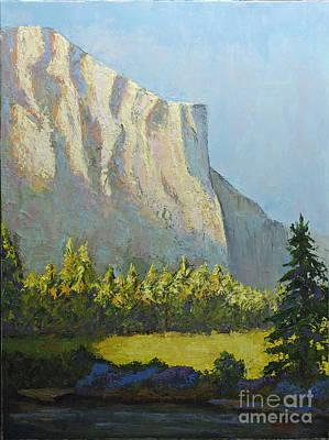 El Capitan Painting - El Capitan by Linda Riesenberg Fisler