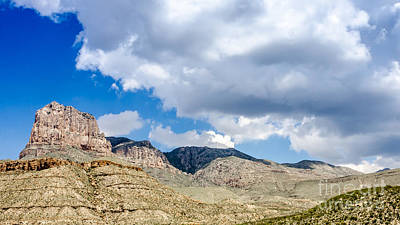 Photograph - El Capitan Peak Guadalupe Mountains National Park by Debra Martz