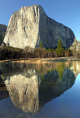 Photograph - 2dm6501-el Capitan Reflect  by Ed  Cooper Photography