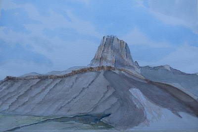 Painting - El Capitan - Watercolor Sketch by Joel Deutsch