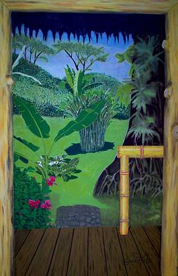 El Caribe Art Print