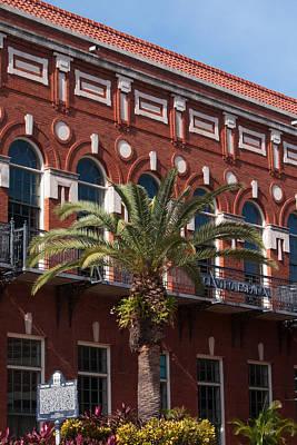 Photograph - El Centro Espanol De Tampa by Paul Rebmann