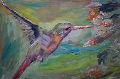 El Colibri Art Print by Horacio Prada